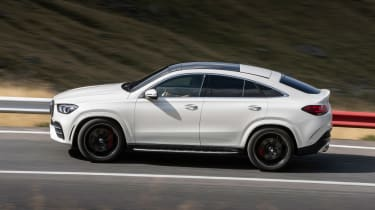 Mercedes-AMG GLE 53 Coupe - side action