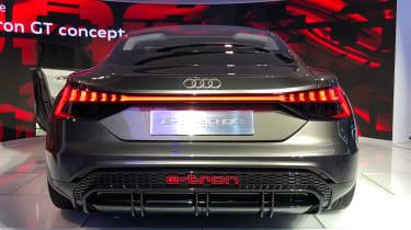 audi e-tron gt concept la motor show rear