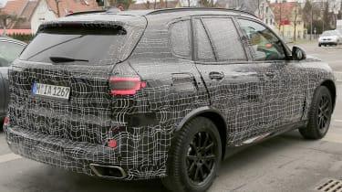BMW X5 2018 spy rear quarter