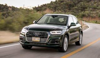 Audi Q5 3.0 TDI S-Line - front