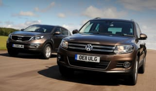 Volkswagen Tiguan vs Kia Sportage