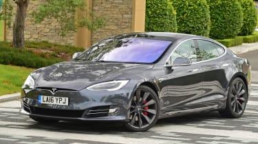 Tesla Model S 2016 facelift static