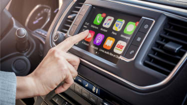 Citroen Dispatch touchscreen