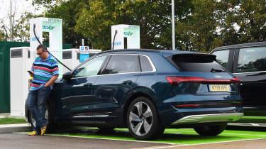 Audi e-tron long term report - third report header