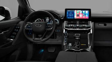 Toyota Land Cruiser - dash