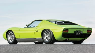 Cool cars: the top 10 coolest cars - Lamborghini Miura rear