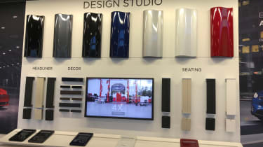Tesla Factory Tour - design studio