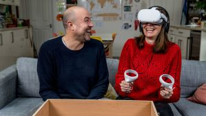 Virtual reality test drive 9