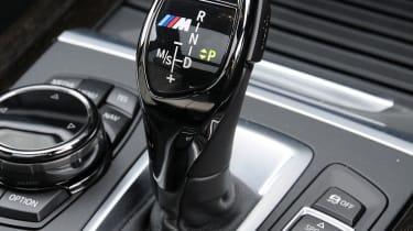 BMW X5 M50d gear stick