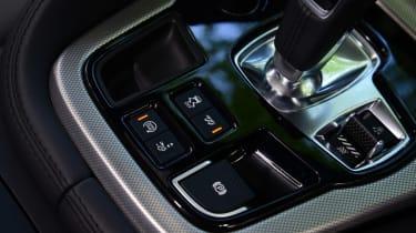 Jaguar F-Type Coupe V6 gearstick