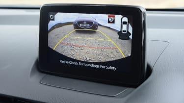 Mazda 2 - reversing camera