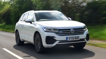 Volkswagen Touareg long termer - first report front