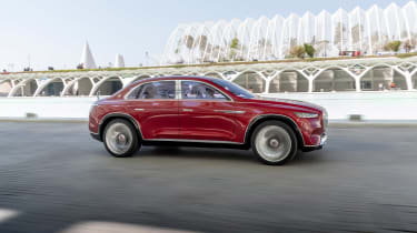 Vision Mercedes-Maybach Ultimate Luxury concept - front/side
