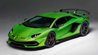 Lamborghini Aventador SVJ - front static