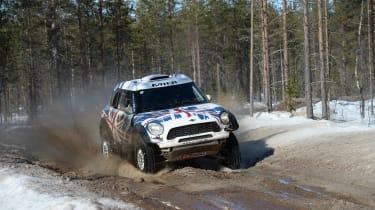 MINI Countryman ALL4 Dakar - front cornering 3