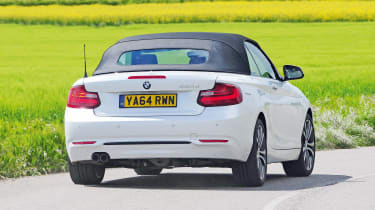 BMW 2 Series Convertible - rear cornering