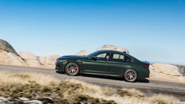 BMW M5 CS - side action