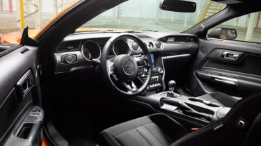 Ford Mustang High Performance Package - dash