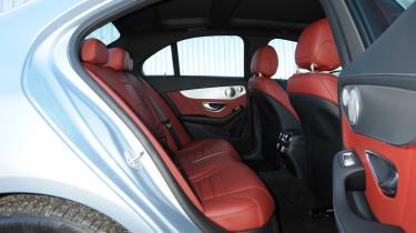 Mercedes C-Class 2014 rear seats