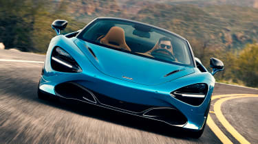 McLaren 720 Spider - full front