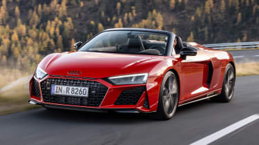 Audi R8 RWD Spyder - front