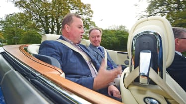 Ian Robertson interview - Rolls-Royce rear interior