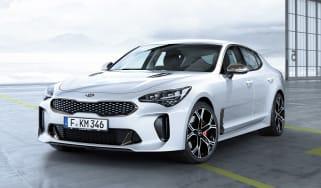 Kia Stinger GT - front static white