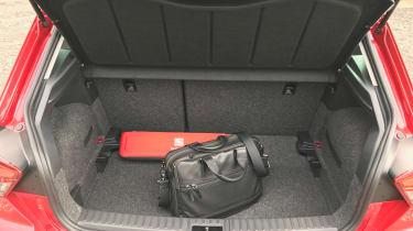 New SEAT Ibiza FR 2017 boot