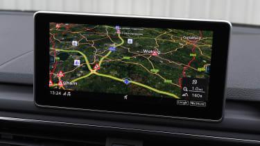 Audi S4 - sat-nav