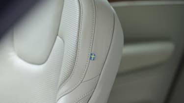 Volvo XC60 T8 - seat detail
