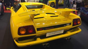 Lamborghini Diablo back - Retromobile