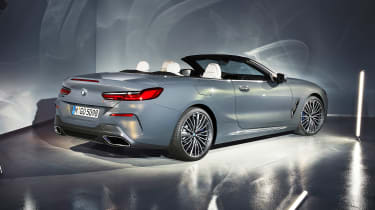 BMW 8 Series Convertible - rear