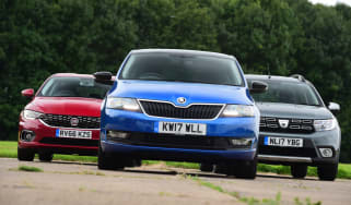 Skoda Rapid Spaceback vs Dacia Logan MCV Stepway vs Fiat Tipo - teaser