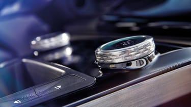 Jaguar I-Pace - studio button detail