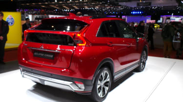 Mitsubishi Eclipse Cross SUV - Geneva rear quarter