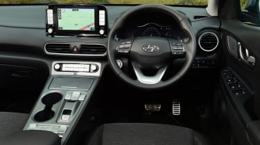 Hyundai Kona Electric - dash