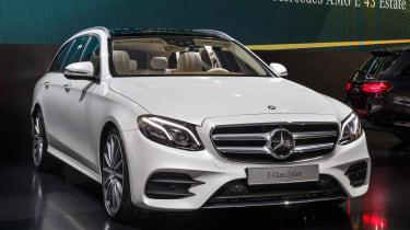 Mercedes E-Class Estate - launch front quarter