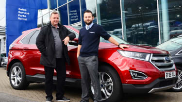 Long-term test review: Ford Edge - first report header