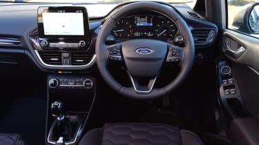 Ford Fiesta Vignale interior