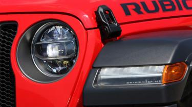 New Jeep Wrangler Rubicon - headlight