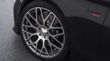 Brabus 700 silver wheel