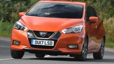Long term Nissan Micra - second report - front corner