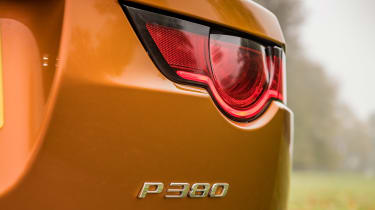 Jaguar F-Type P380 - P380 badge