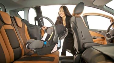 Child car seats - in car