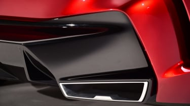 BMW Concept 4 Series - exhaust