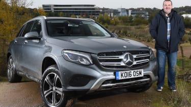 Mercedes GLC long-term test - second report header