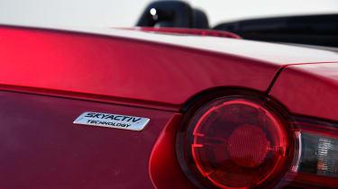 Mazda MX-5 long termer - first report rear light