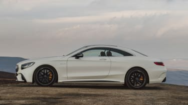 Mercedes-AMG S 63 Coupe - side static