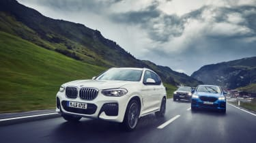 BMW X1 and X2 PHEV - group