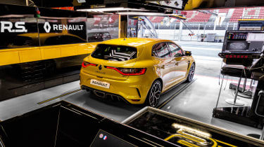 Renault Megane RS Trophy - rear garage